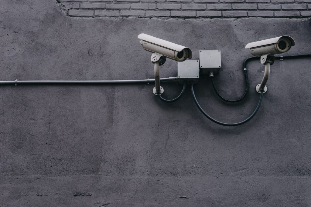 Image of CCTV cameras.