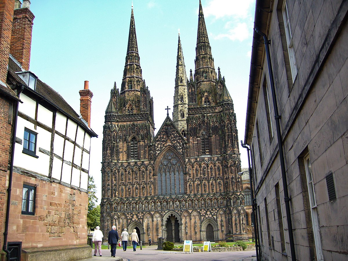 Image of Lichfield Cathedral.