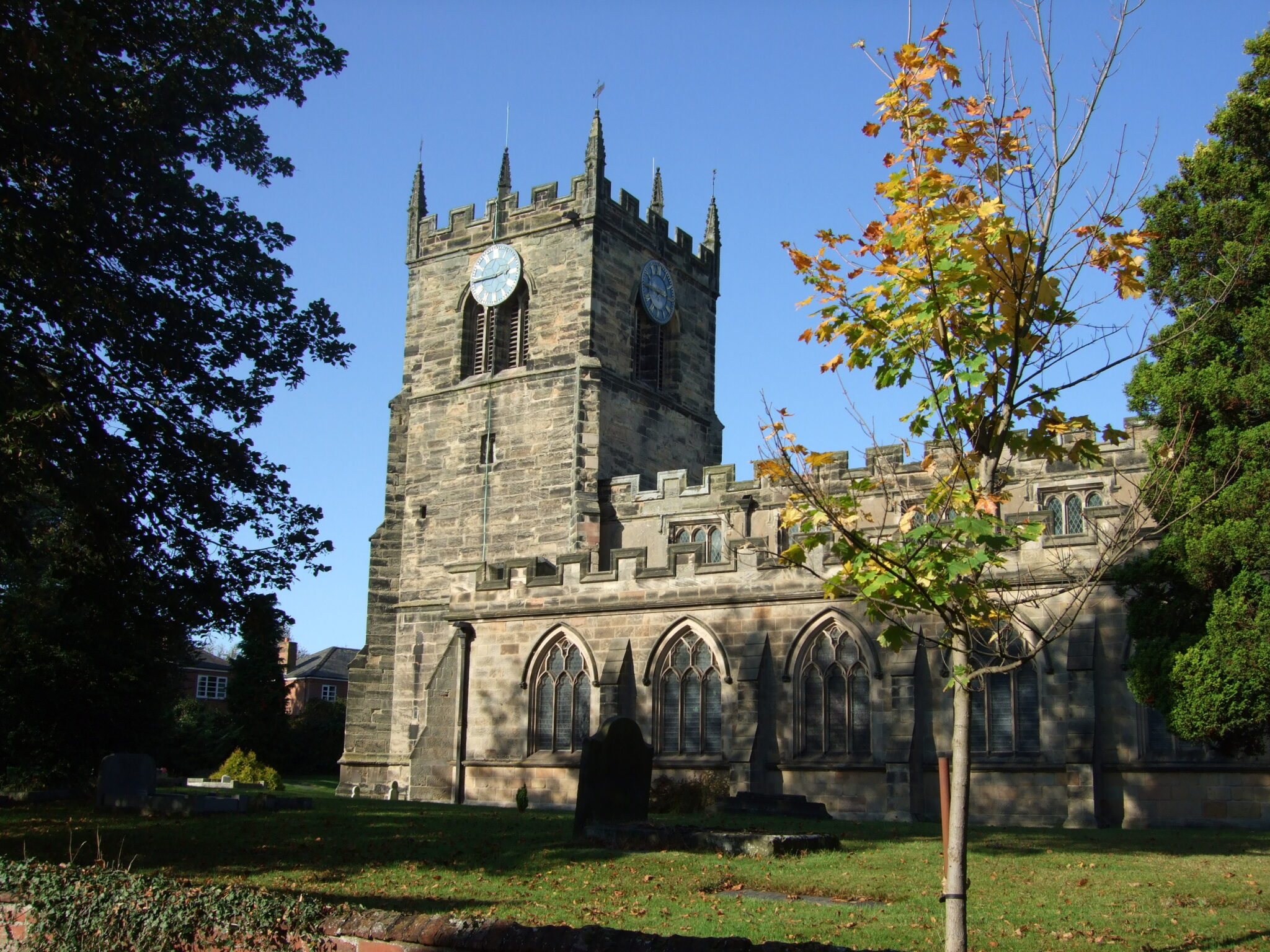 Image of St James' Church.